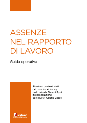 """eBook &quotASSENZE NEL RAPPORTO DI LAVORO"""""""