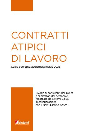 """eBook """"CONTRATTI ATIPICI DI LAVORO"""""""