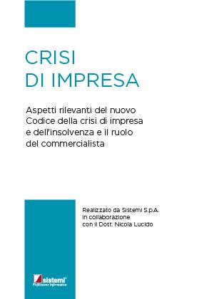"""eBook """"CRISI DI IMPRESA"""""""